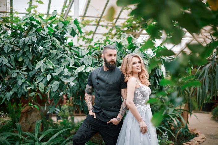 Свадьба в зимнем саду